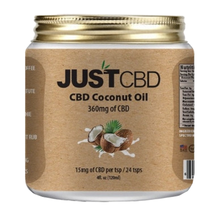 JustCBD Coconut Oil
