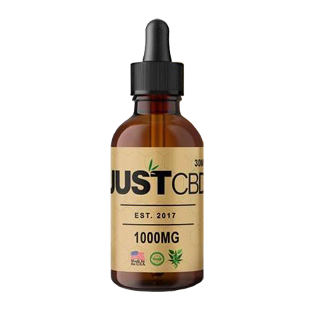 JustCBD Honey Oil CBD Tincture