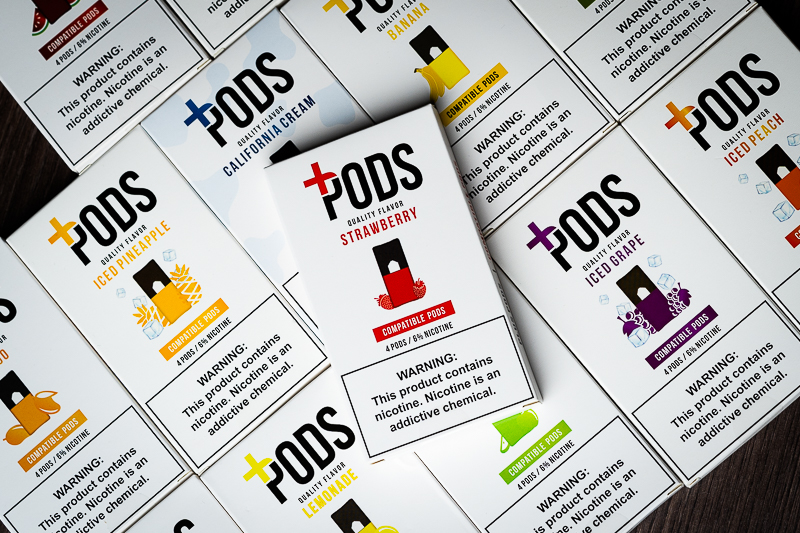 Plus Pods Review: Your Favorite Flavors Now in 6%