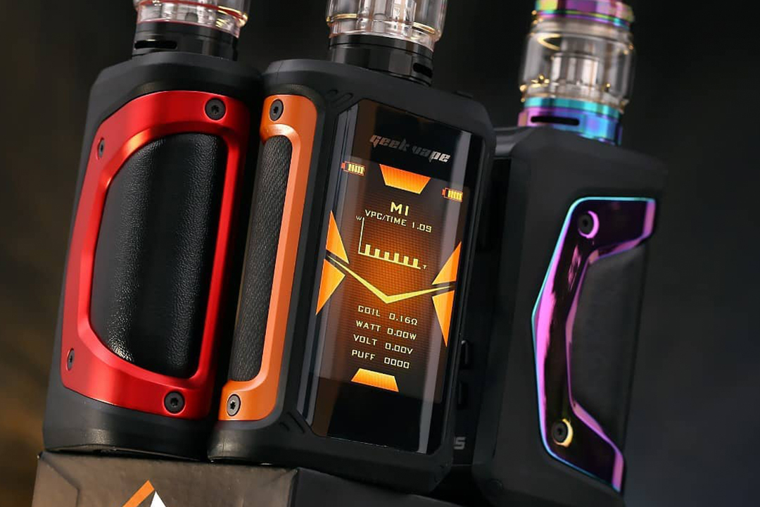Geekvape Aegis X: Features and First Impressions