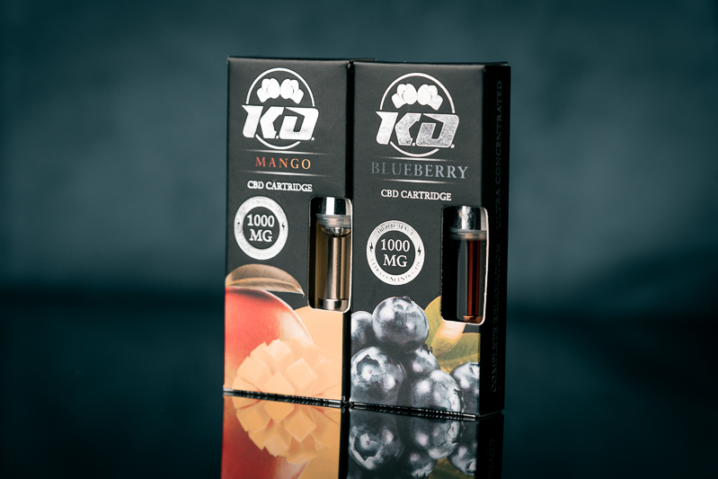 Knockout CBD Cartridge Review: Formulated with 300mg CBD