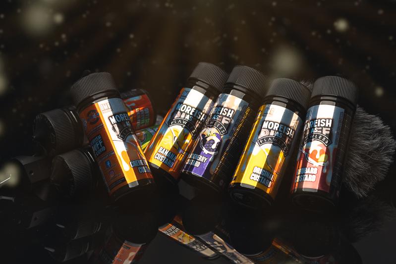 Moreish As Flawless E-liquid Review: Custard Fans Look No Further!