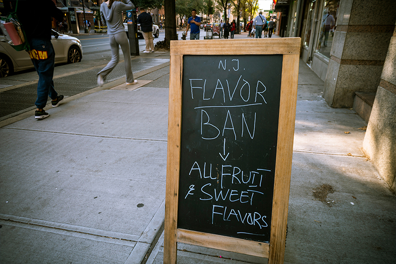 New Jersey Governor Signs Flavor Ban, Vetoes Nic Cap