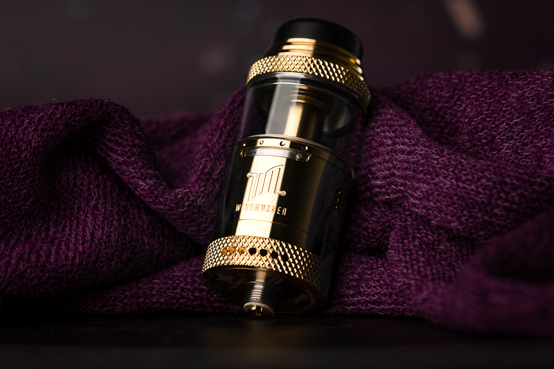 Vandy Vape x El Mono Vapeador Widowmaker RTA: That
