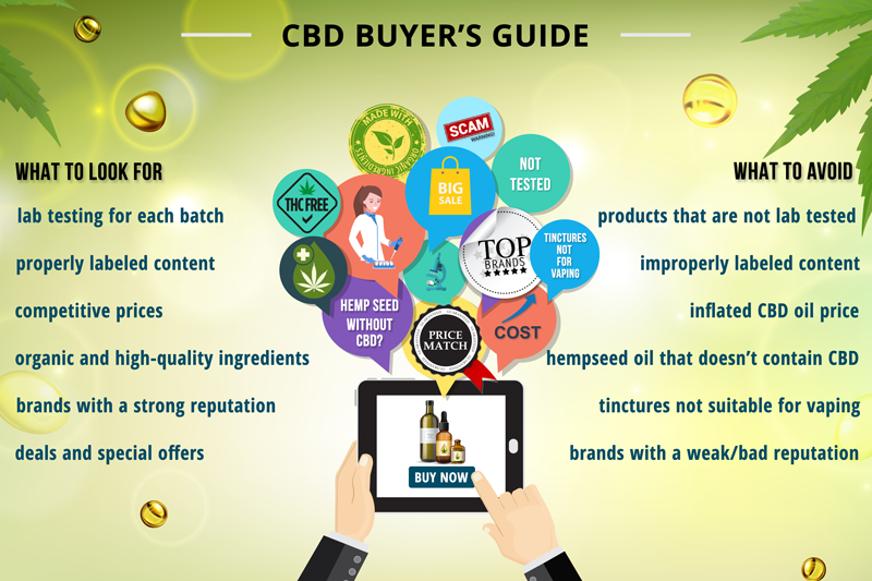 cbd buyers guide infographic