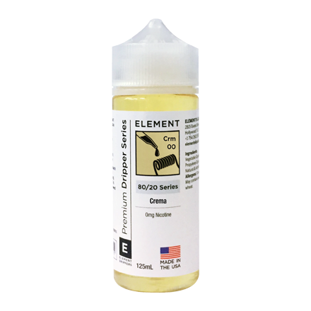 Element Dripper Series High VG E-liquid