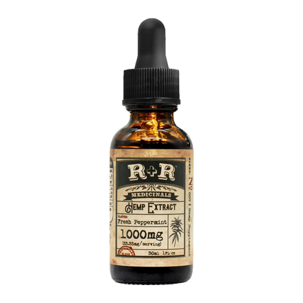 R+R Medicinals CBD Oil 1000mg