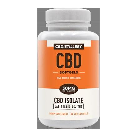CBDistillery Softgel Capsules