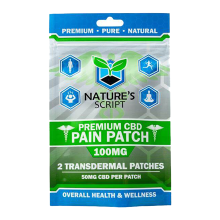 Nature's Script CBD Pain Patch