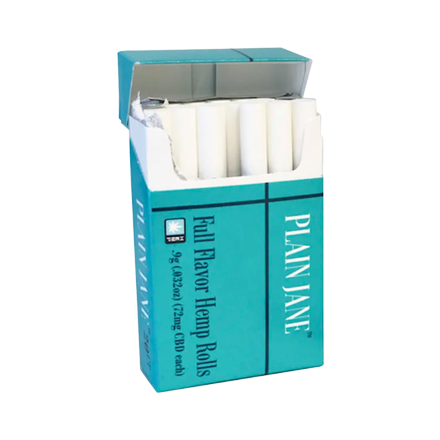 Plain Jane Full Flavor Hemp Cigarettes